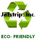Eco friendly Jetstrip logo